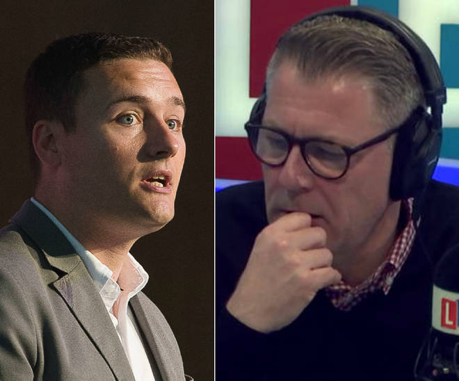 Wes Streeting was speaking to Ian Collins