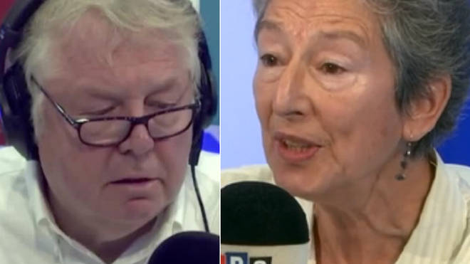 Nick Ferrari and Naomi Wimbourne-Idrissi