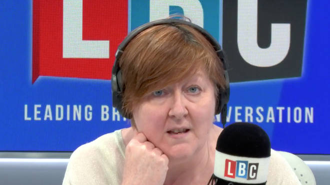 Shelagh Fogarty couldn't believe this caller admitted to never using Twitter after insisting there was no anti-Semitism on the platform