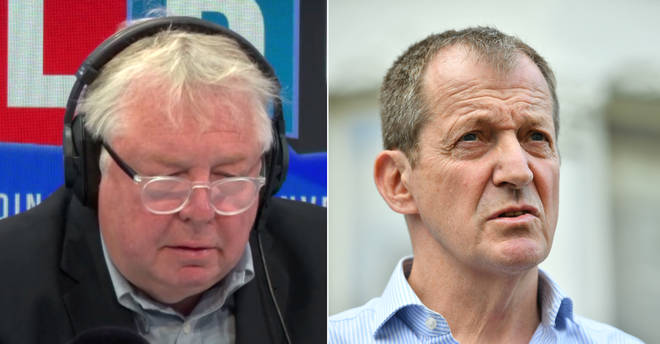 Nick Ferrari spoke to a former senior Labour official about Alastair Campbell
