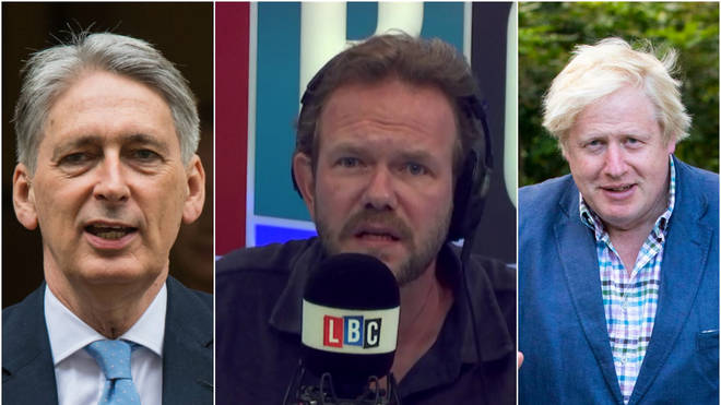 James O'Brien laying into the ego-battle between Philip Hammond and Boris Johnson