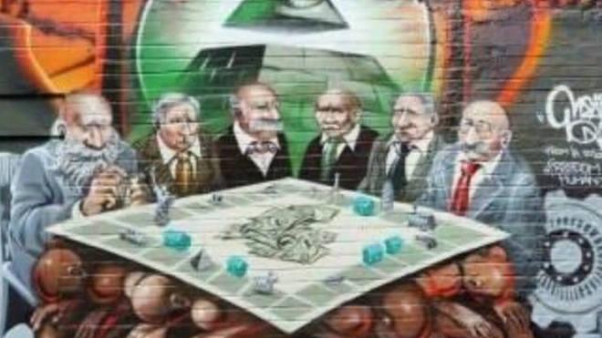 The Anti-Semitic Mural