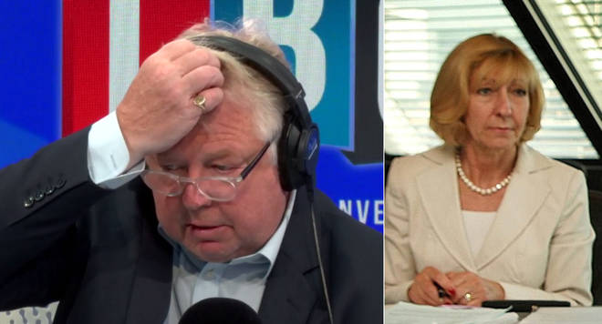 Nick Ferrari can't believe what he's hearing from Baroness Wheatcroft