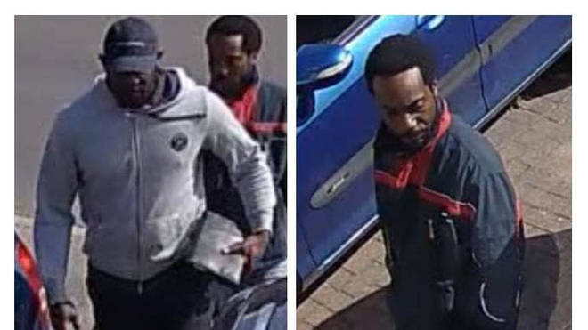 Police want to trace two men following the stun gun shooting in Stanmore.