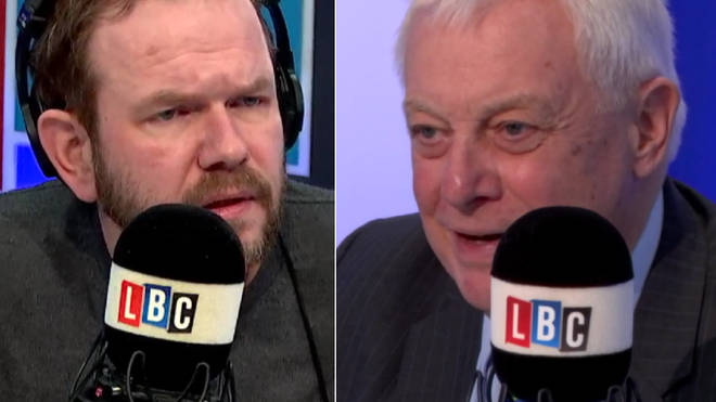 James O'Brien with Lord Patten