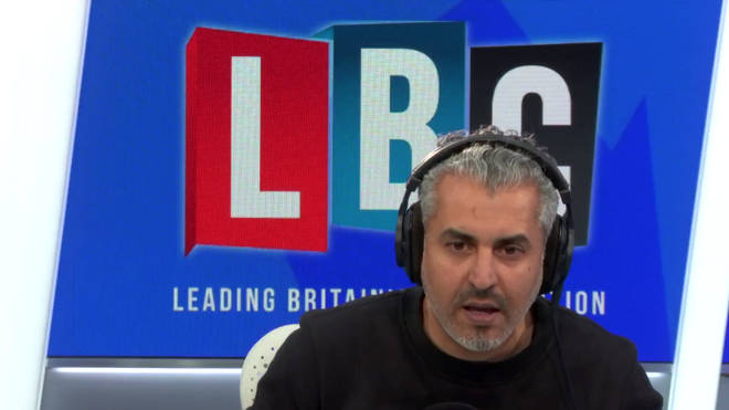 Maajid made the powerful analogy in the wake of an LBC exclusive.