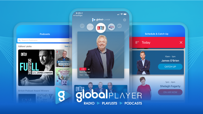 Global Player on App Store and Google Play
