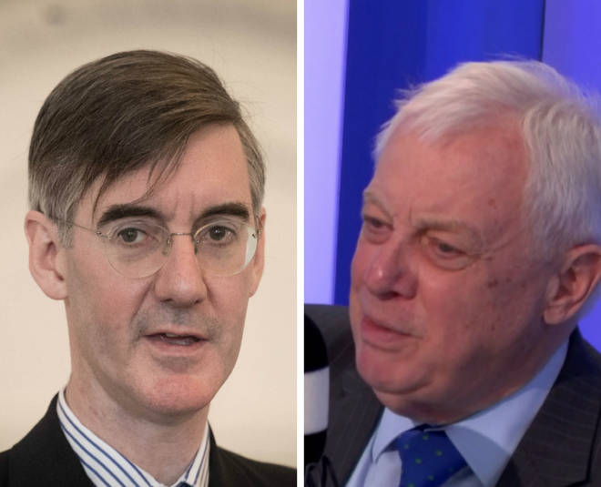 Jacob Rees-Mogg and Lord Patten
