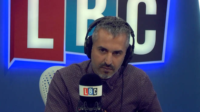 Maajid Nawaz got angry as he discussed Islam's history of homophobia