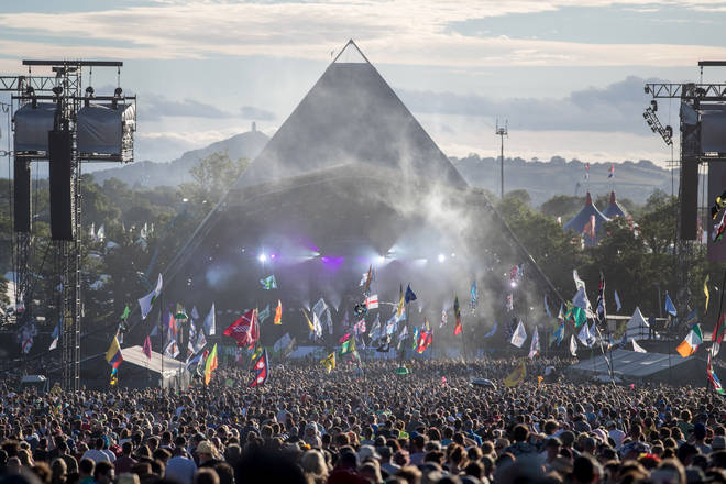 Glastonbury Festival's Pyramid Stage