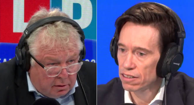 Nick Ferrari spoke to Rory Stewart