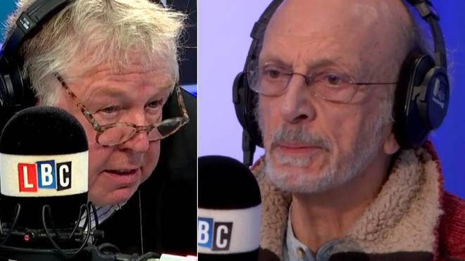 Nick Ferrari with Professor Jonathan Rosenhead