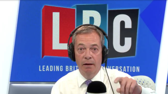 Nigel Farage directly addressed the Mayor of London