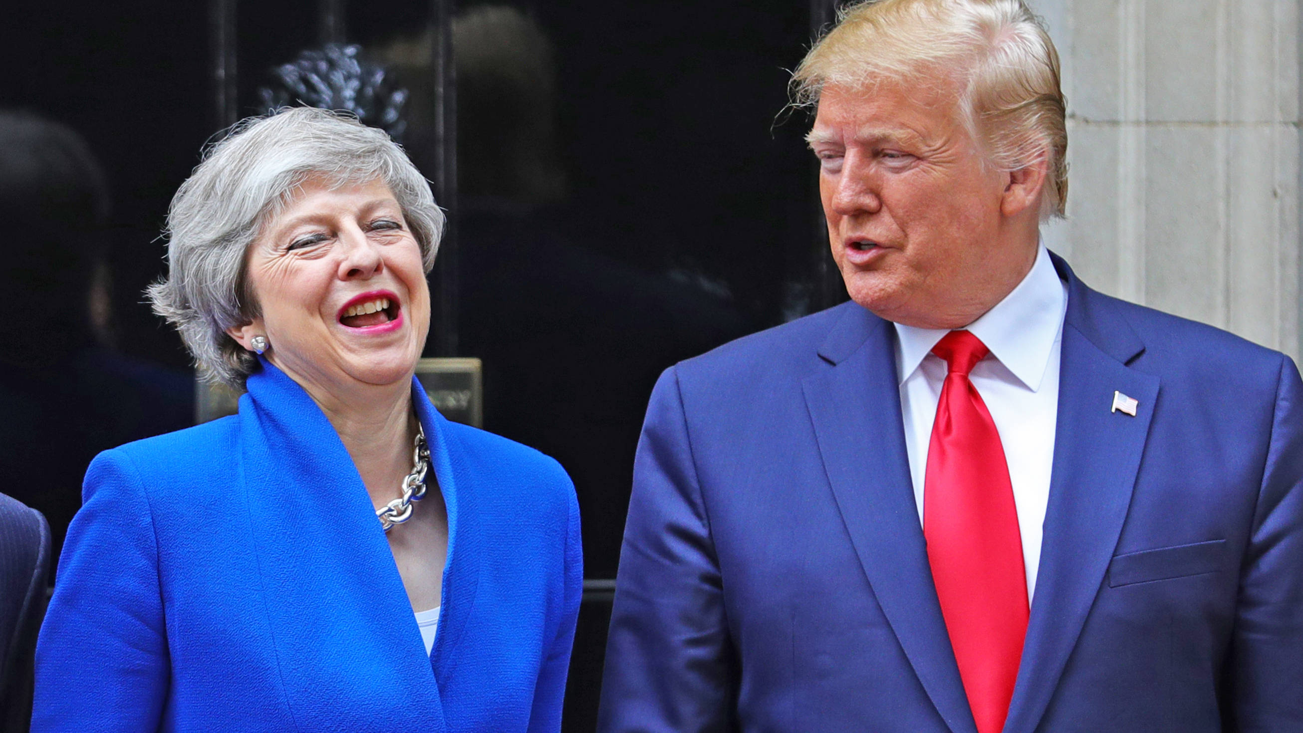 "Donald Trump Thinks The UK Could Have A ""Very Substantial Trade Deal"" With The US"