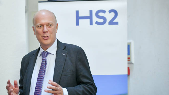 Chris Grayling announces HS2. Neither would survive under Adriana's rule.