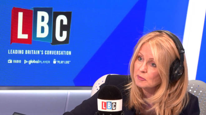 Esther McVey refused to apologise for the rollout of Universal Credit
