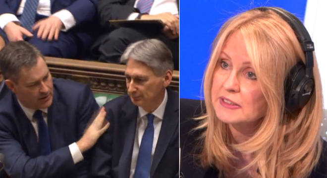 Esther McVey had some bad news for Philip Hammond and David Gauke