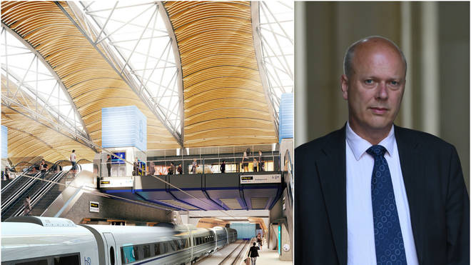 Chris Grayling accused over HS2