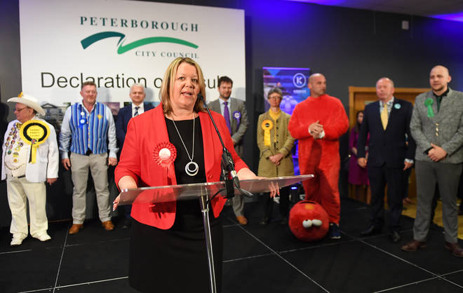Labour's Lisa Forbes wins the Peterborough by-election
