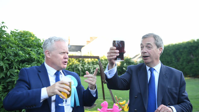 Nigel Farage's Brexit Party came close to winning in Peterborough