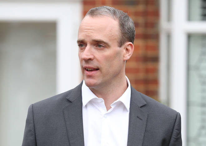 Dominic Raab, the former Brexit Secretary.