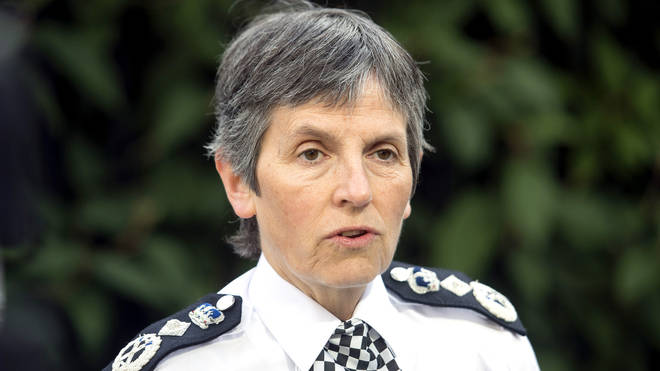 Cressida Dick blames social media for rise in knife crime.