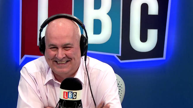 Iain Dale laughing