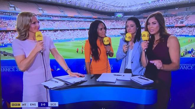 "Sam Quek called this Women's World Cup panel ""beautiful"""