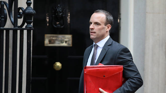 Former Brexit Secretary Dominic Raab is one of 10 candidates running to succeed Theresa May as Prime Minsiter
