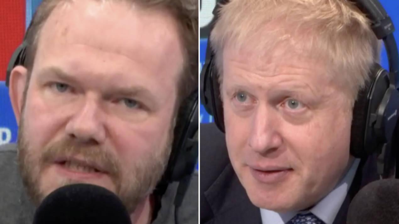 """The James O'Brien Caller Who Supports """"Narcissistic Liar"""" Boris Johnson"""