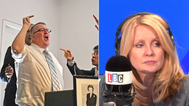 Graham Moore called into Esther McVey's LBC phone-in