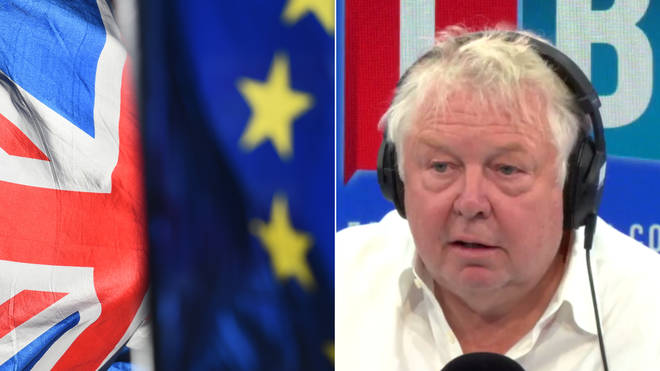 Nick Ferrari insists no-deal Brexit has to be on the table