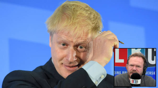 James O'Brien fact-checked Boris Johnson's leadership speech