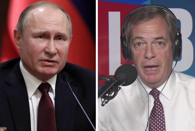 Putin Nigel Farage