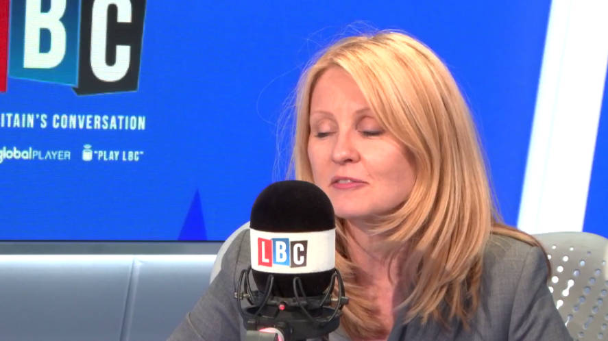 Esther McVey's Gaffe Over Foreign Aid Airport Claim