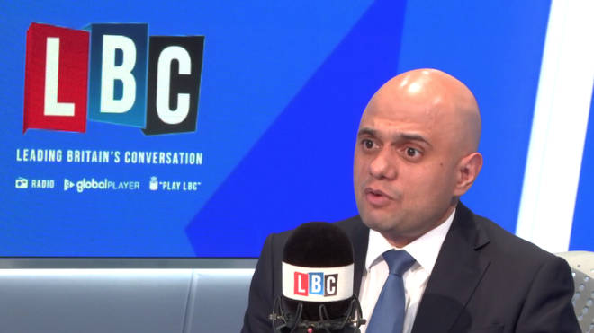Sajid Javid gave his reaction to the 2017 Grenfell Tower Fire.