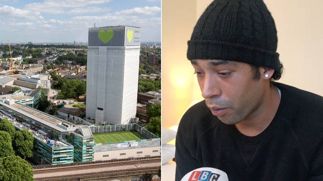 Bobby Ross is still in a hotel two years after the Grenfell fire