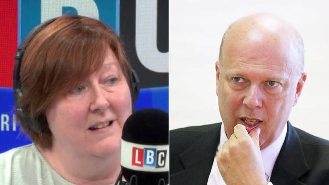 Shelagh Fogarty asked Chris Grayling how he was going to deliver Brexit again and again