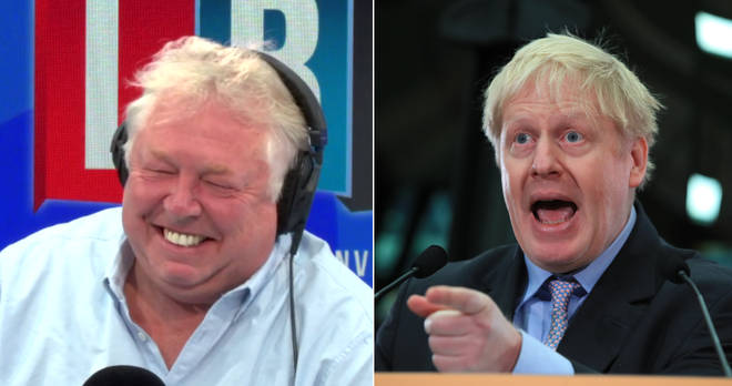Nick Ferrari was left in hysterics by this caller