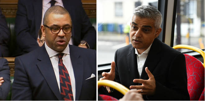 James Cleverly on Sadiq Khan