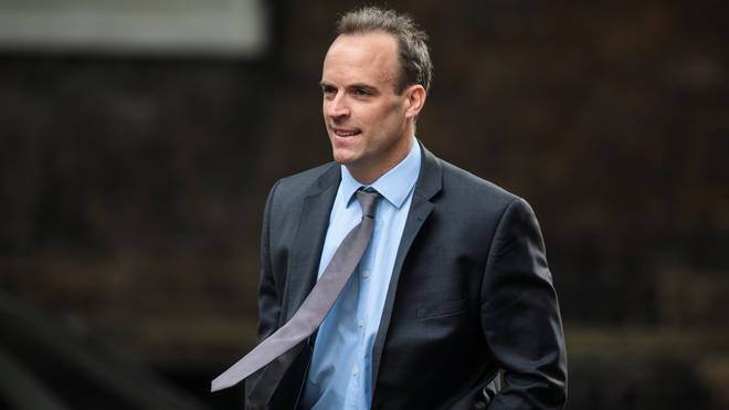 Tory leadership hopeful Dominic Raab