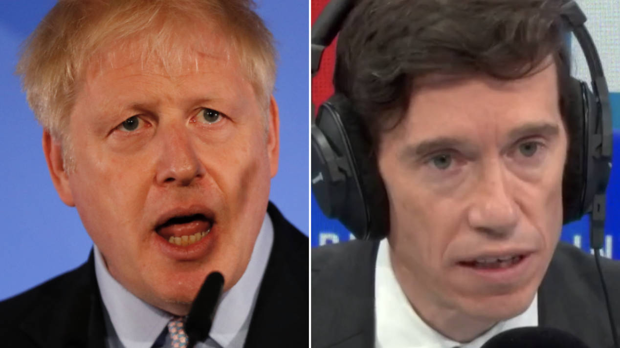 "Rory Stewart Hits Out At Boris Johnson For ""Running Scared"" In Boycotting Channel 4 Debate"