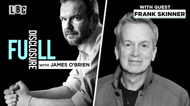 Frank Skinner with James O'Brien