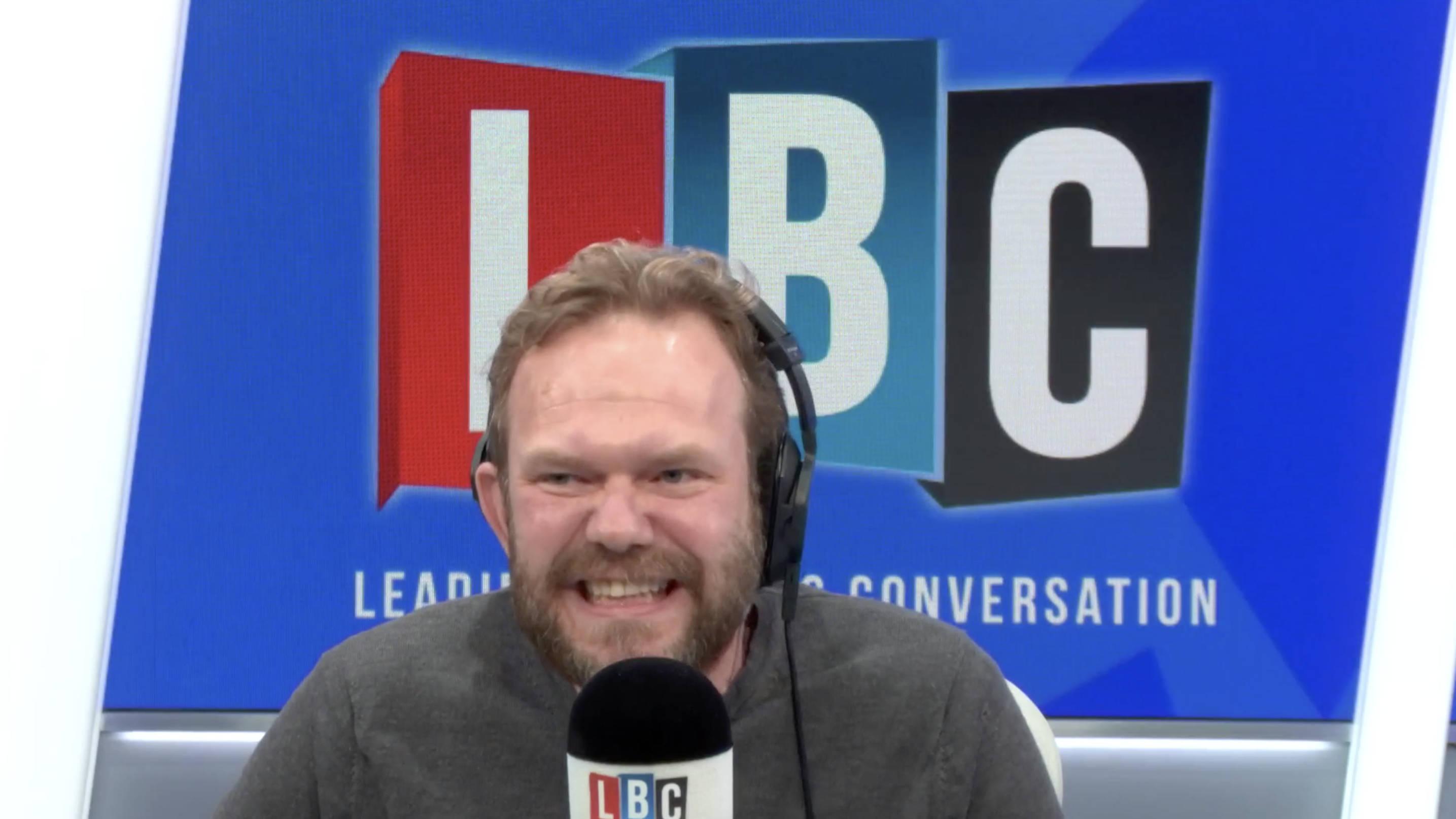 James O'Brien's Hilarious Row With Caller Who Backed Boris Johnson's Debate No-Show