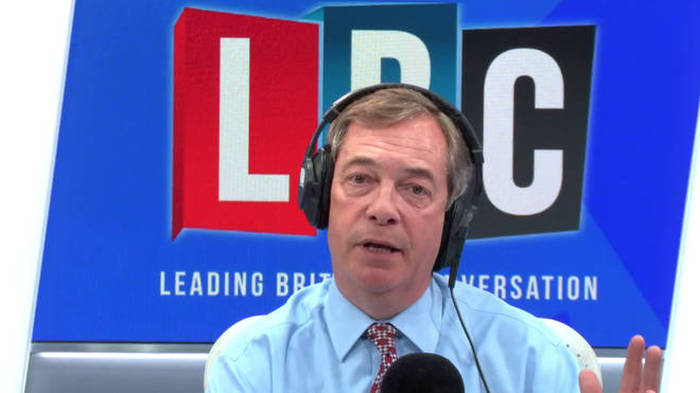 The Nigel Farage Show On LBC: Watch Live