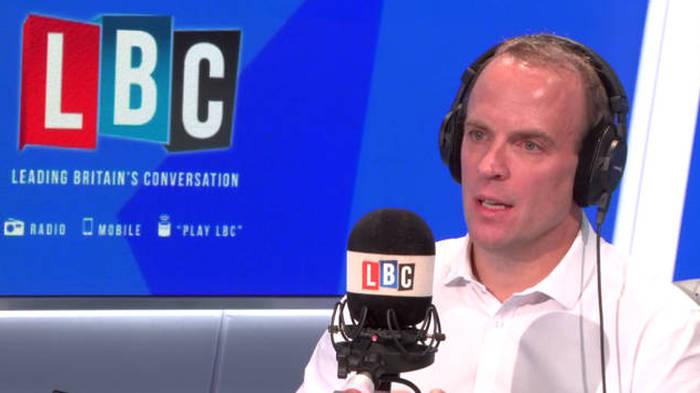 Iain Dale Interviews The Tory Leadership Candidates - Dominic Raab