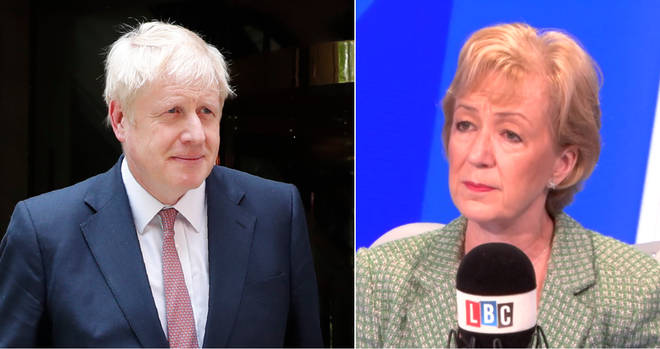 Andrea Leadsom is backing Boris Johnson
