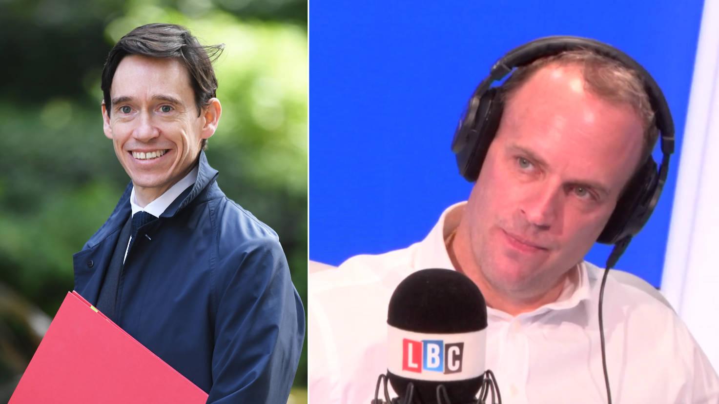 """Rambling"" And ""Ludicrous"": Dominic Raab Hits Out At Rory Stewart"