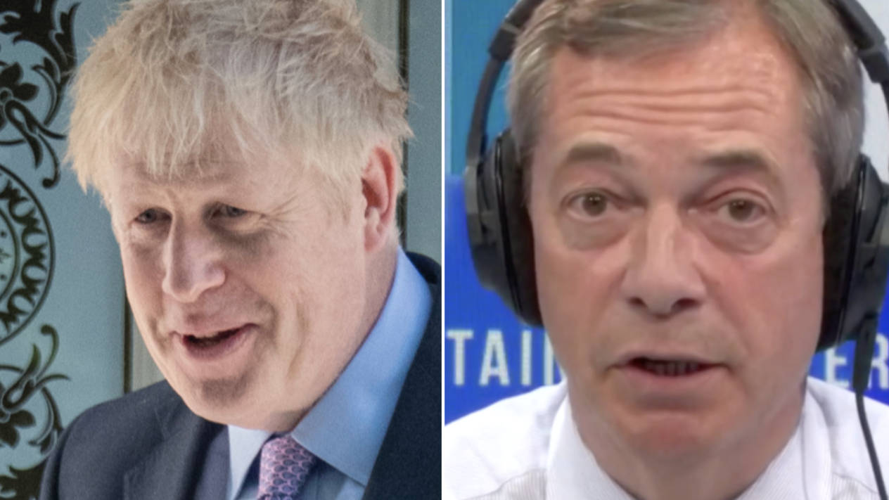 Nigel Farage Hits Out At Boris Johnson For Debate Boycott