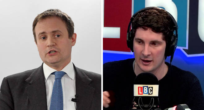 Tom Tugendhat and Tom Swarbrick